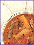 Onion Sambhar
